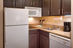 All suites equipped with a full kitchen