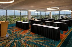 Classroom Meeting Setup - Sarasota Room