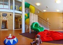 Indoor-Spielebereich im JUFA Hotel Knappenberg