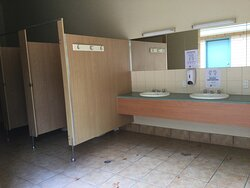 Toilet facilities always clean.