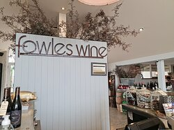 Reception at Fowles Wine