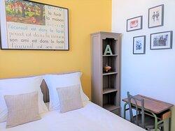 Gîte Les Billes (1 à 6 personnes) - 63m² -  Cuisine équipée - 2 chambres - coin salon avec canapé lit