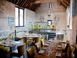 The dining room at the Archangel