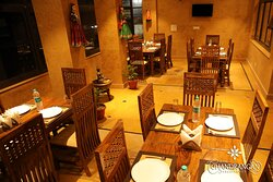 Indulge in the traditional ambiance with delicious  Rajasthani cuisine at The Chandrangan Restaurant
