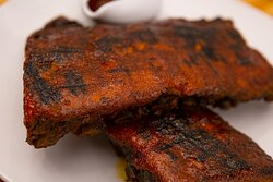 Delicious famous Gale Street ribs!