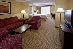 Upscale luxury & abundant space; how suite it is!