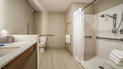 Two Queen Size Bed Roll In Shower
