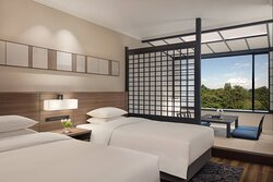 Twin/Twin Japanese/Western Guest Room - Bedroom