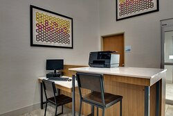 Check your email or print boarding passes in our business center