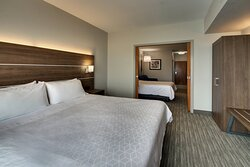 Comfortable separate sleeping areas in our Two Room Suite