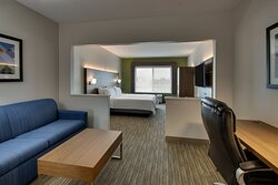 There is plenty of room to relax after long days in our king suite