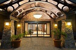 Hotel Entrance (Evening)