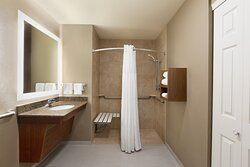 Wheelchair Accessible Bathroom with Shower