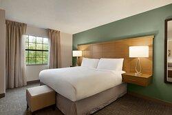 One Bedroom Suite (Bedroom Portion)