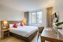 Bedroom Overview Citadines Place DItalie Paris