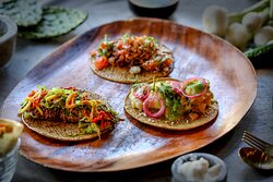 Three Taco Combo is our best seller...at Oaxaca Taqueria