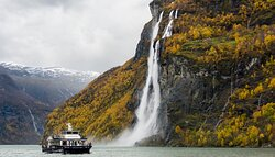 Highlight of your Fjorcruise  - the Geirangerfjord
