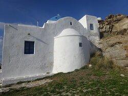 Monastery of Agios Ioannis Detis - Naoussa Parou, Greece