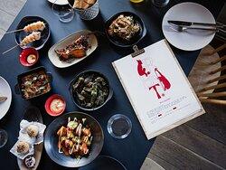 Bryt tapasbar menu. Fotograf Kristin Støylen