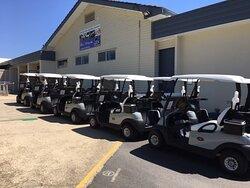 CEX golf club next door