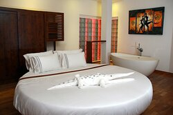 Honeymoon room special for lovers