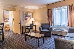 Standard Suite Living Room Space
