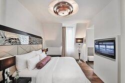 Deluxe Suite Sleeping Area
