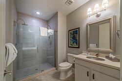 Spacious bathroom in Signature Collection villa