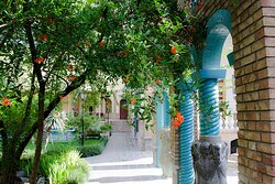 Moghadam Museum at Spring,  #Tehran ,#Iran