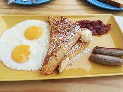 Always an excellent quick breakfast service