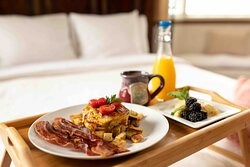 A homemade breakfast is delivered to your door each morning!