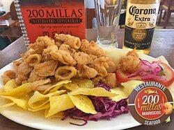 Delicioso Chicharrón Mixto (camarones, calamares y pescado)
