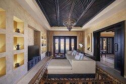 Interior view of living room in One Bedroom Villa