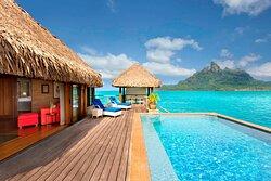 Royal Overwater Otemanu Villa with Pool