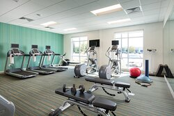 Stay on track with our 24-hour state of the art fitness center.