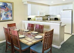 Two Bedroom Deluxe Dining Area