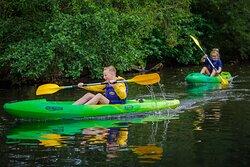 Balade en kayak monoplace