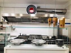 La nostra cucina a vista