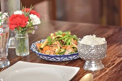 Very beautiful authentic Thai food