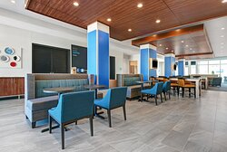 Lobby lounge and seating area