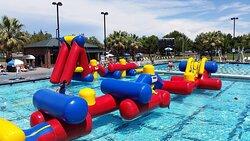 "Visit the Folsom Aquatic Center fo great ""Family Fun"""