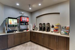 Enjoy Coca Cola Products and our house coffee blends