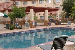Take a relaxing swim in the pool