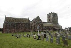 Bamburgh, Northumberland, England, United Kingdom - St Aidan's Church.