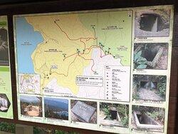 Shing Mun War Relics Trail - trailhead map
