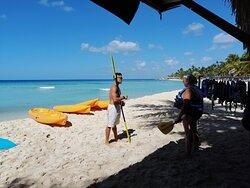 instruccion sobre el uso del kayak
