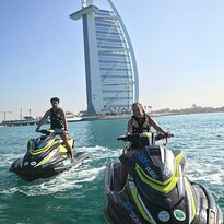 Ride in Dubai Watersports