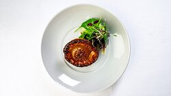 Caramelized Red Onion & Thyme Tarte Tatin