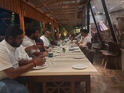 Mayan Family Restaurant Patio, Live Grand Visthara Inn, Sundagiri, Shoolagiri