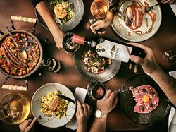 • New Opening • • Grampsas Winery & Restaurant by Chef Stavros Yfantidis .  •Fine & Mess Dinning